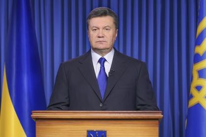Янукович попросил защиты у России