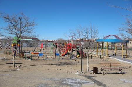 В Жанаозене построили парк отдыха
