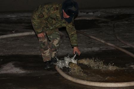 В Актау в квартре на девятом этаже загорелись домашние вещи
