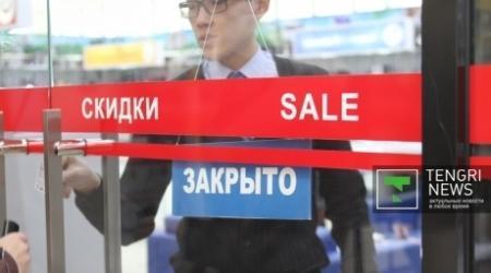Крупные магазины Казахстана сменили цены на импортные товары