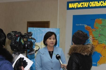 В Актау прошла встреча таможенников с депутатом Мажилиса