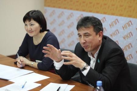 Вопросы развития бизнеса обсудили на встрече с депутатом Сената в Актау