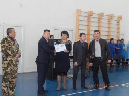 В Баянды прошел турнир по волейболу, посвященный 25-летию вывода Советских войск из Афганистана