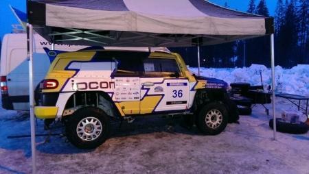 Один из экипажей «Mobilex Racing Team» вошел в десятку сильнейших в первом этапе Кубка мира по ралли-рейдам