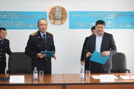 Подписан меморандум между палатой предпринимателей Мангистауской области и финансовой полицией