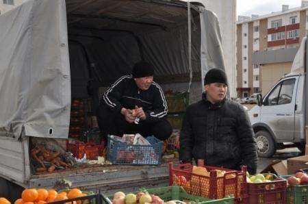 В Актау прошла ярмарка социально-значимых продуктов питания