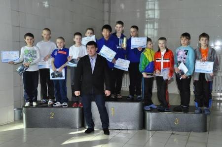 Актауские пловцы завоевали девять медалей на республиканском турнире в Кокшетау