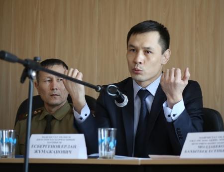 В службе пожаротушения Актау обсудили проблему распространения  экстремизма