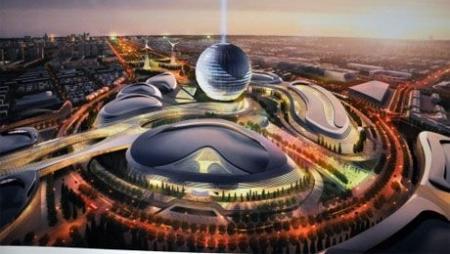 Н.Назарбаеву презентовали Концепцию архитектурного проекта «Астана ЭКСПО-2017»