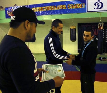 Актауские спортсмены завоевали 13 медалей на чемпионате Казахстана по панкратиону