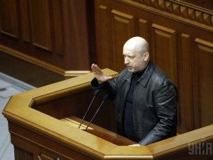 Турчинов наложит вето на решение Верховной рады Украины об отмене закона о языках