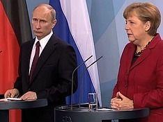 Путин и Меркель договорились начать расследование кризиса на Украине