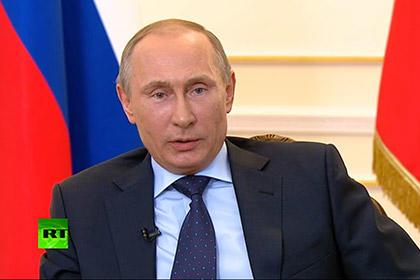 Путин отказался рассматривать вопрос о присоединении Крыма