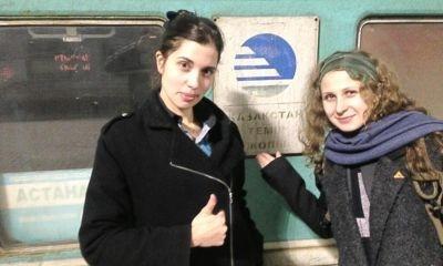 Участницы панк-группы Pussy Riot решили переехать в Казахстан