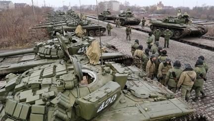Армия России проводит учения вдоль границы с Украиной