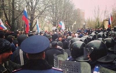 В Донецке захвачено здание СБУ, прокуратуры и офис Таруты