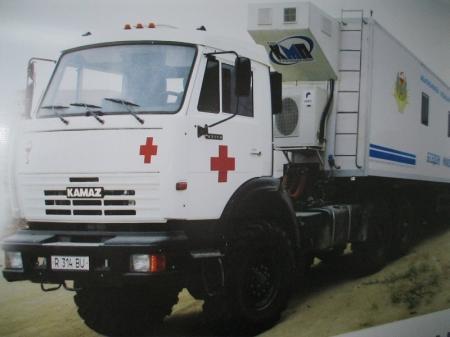 С 4 марта в населенные пункты Мангистау начнет выезжать передвижной медицинский комплекс