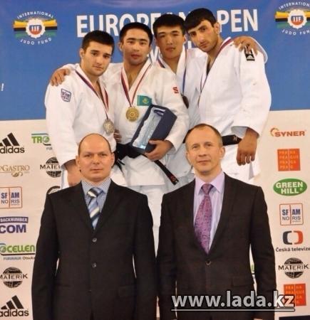Актауский дзюдоист Айбек Имашев стал чемпионом Европы