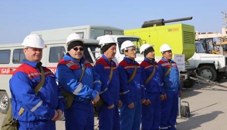 """В Актау стартовали командно-штабные учения """"Коктем-2014"""""""