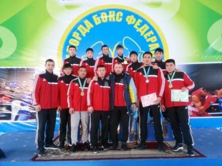 Мангистауские боксеры выступили на чемпионате Казахстана в Кызылорде