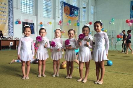 В Актау прошел турнир по художественной гимнастике