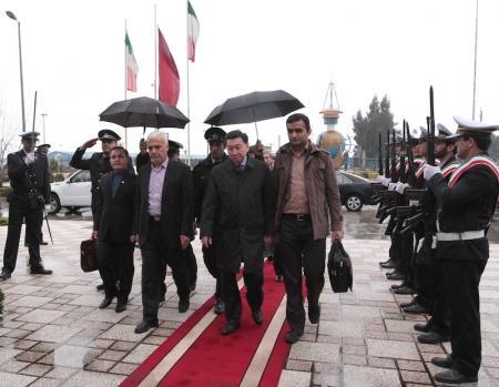 Алик Айдарбаев встретился с губернатором провинции Мазандаран