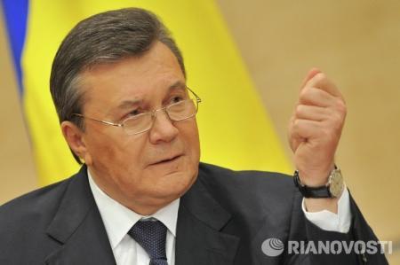 Янукович во вторник выступит с обращением в Ростове-на-Дону