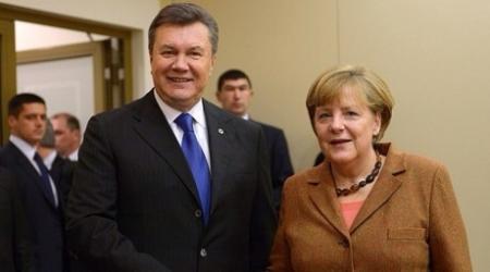 Янукович и Меркель выступят с важными заявлениями по Украине