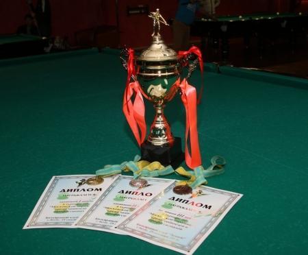В Актау завершился городской турнир по бильярду