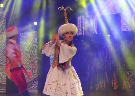 В Актау прошел концерт ансамбля танца «Жорга» и певицы Тамары Асар
