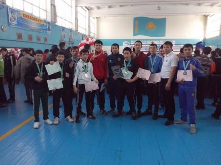 Мангистауские кикбоксеры завоевали шесть медалей на чемпионате Казахстана в Костанае