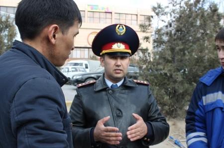 Нуржан Махмутов: В Актау до конца марта установят светофор у морского училища