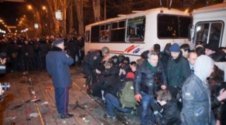 Митинг в Донецке перерос в кровавое побоище