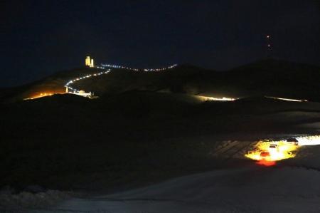 В Мангистауской области на священной горе Отпан тау зажгли огонь единства и  отпраздновали Амал