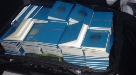 Пограничники изъяли бланки паспортов Казахстана у граждан КНР в Алматы