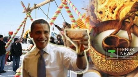 Барак Обама поздравил страны мира с Наурызом