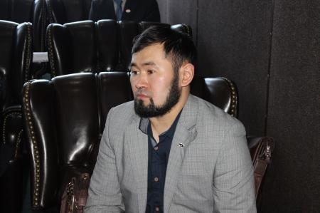 В Актау представители японской и казахстанской организаций кекушинкай каратэ дали пресс-конференцию для журналистов