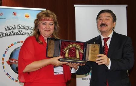 Журналистка из Актау Наталья Задерецкая получила международную премию
