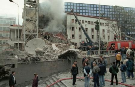 Исполняется 15 лет с начала бомбардировок Югославии силами НАТО