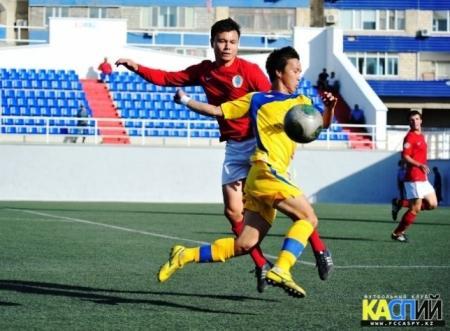 В Актау пройдет презентация нового состава футбольного клуба «Каспий»