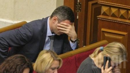 СМИ: Новая власть на грани раскола - Кличко поднял бунт против Турчинова