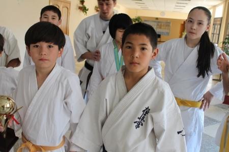 Актауские спортсмены привезли три медали с чемпионата Казахстана по кекушинкай карате