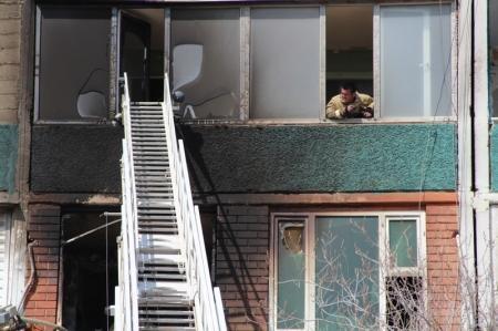 В Актау при пожаре пострадали два человека