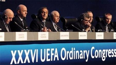 """На Конгрессе УЕФА в Астане принято историческое решение о турнире """"Лига Наций"""""""