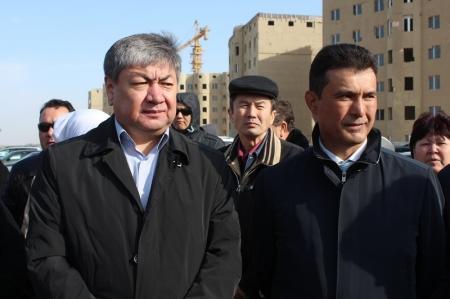 Вкладчики «Жилстройсбербанка» собрались на месте строительства микрорайона «Акку»