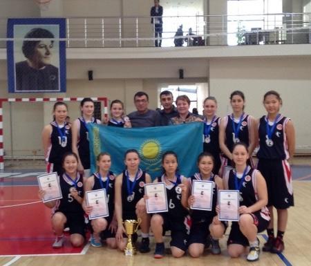 Актауские баскетболистки привезли «серебро» с международного турнира