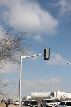 В Актау планируют подключить новый светофорный объект напротив морского училища