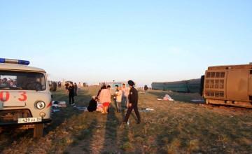 Пострадавшие пассажиры сошедшего с рельсов поезда «Алматы-Атырау» получат компенсацию