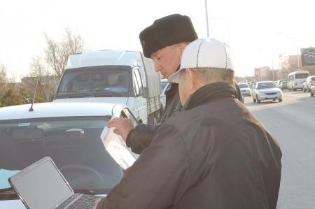 В Актау водителям-должникам будут приходить sms-сообщения с напоминанием о невыплаченном штрафе