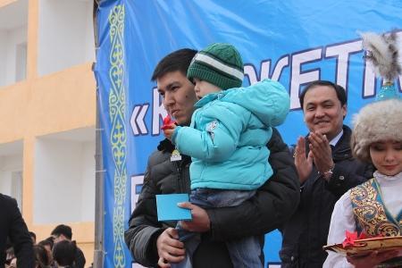 В Актау 200 молодых семей получили ключи от квартир в рамках программы «Доступное жилье-2020»